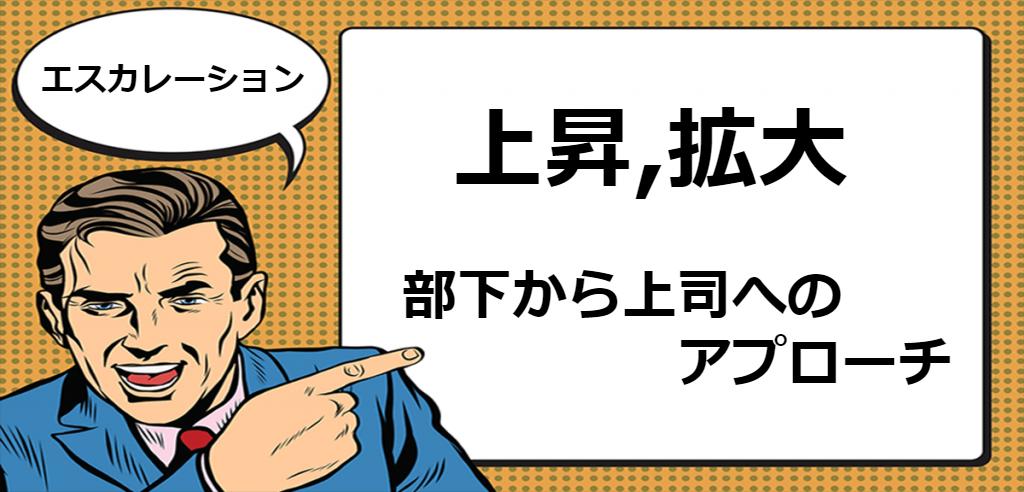エスカレーション 英語