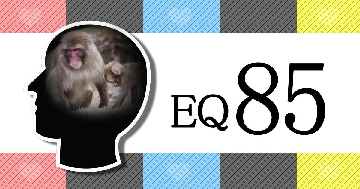 あなたはEQ85