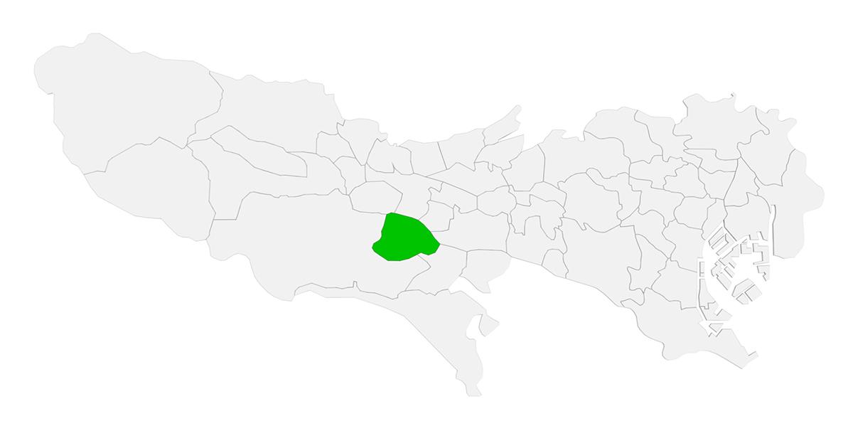 日野市 地図
